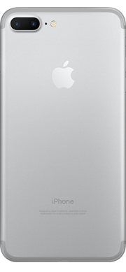 iPhone 7 silver Plus Back Ice Wireless