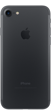 iPhone 7 black Back