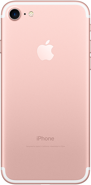 iPhone 7 Rose Gold Back Ice Wireless